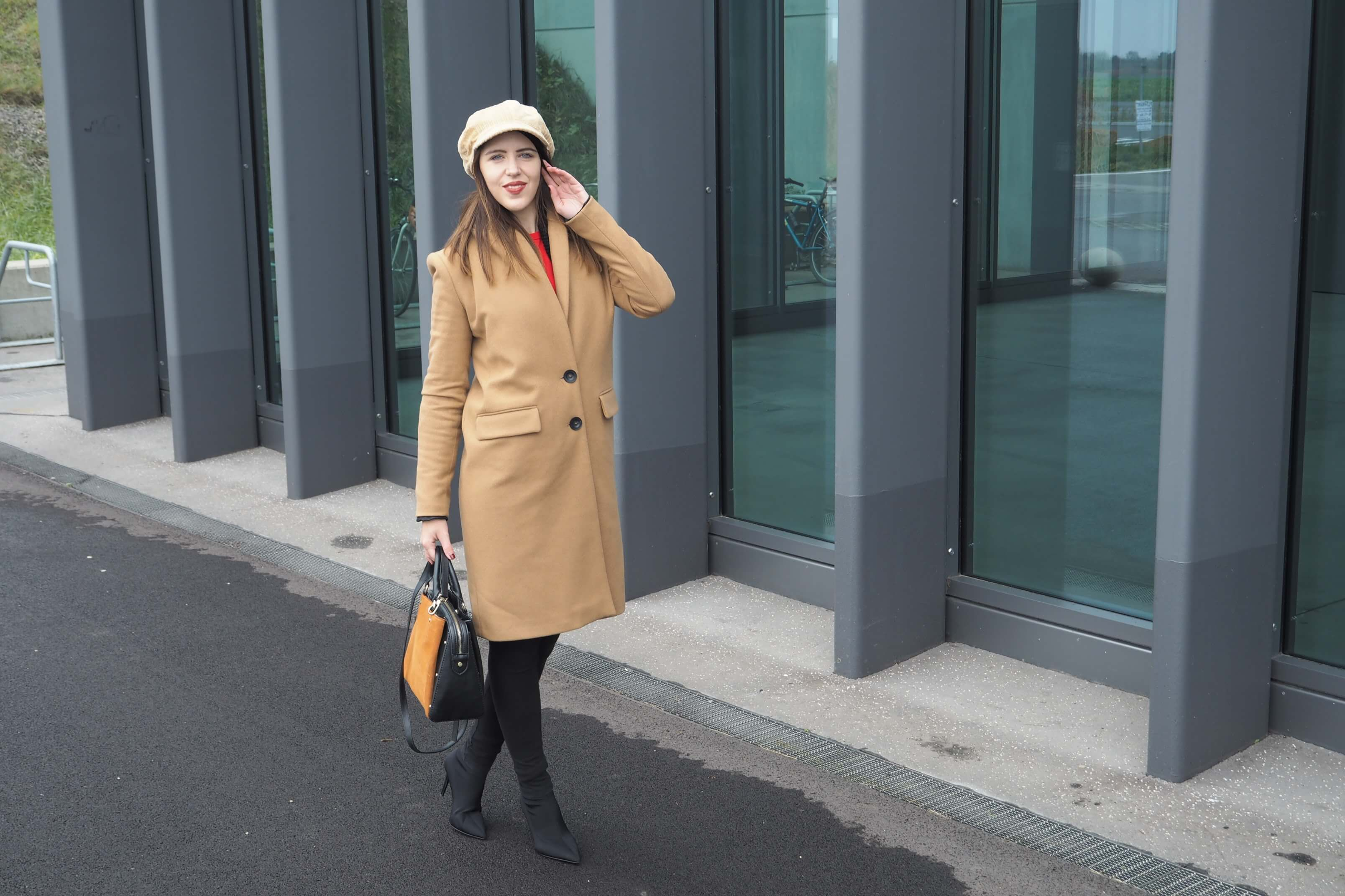 MaryJay Mantel Camel Coat
