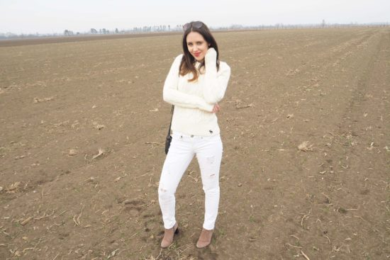 MaryJay Winter Whites Outfit