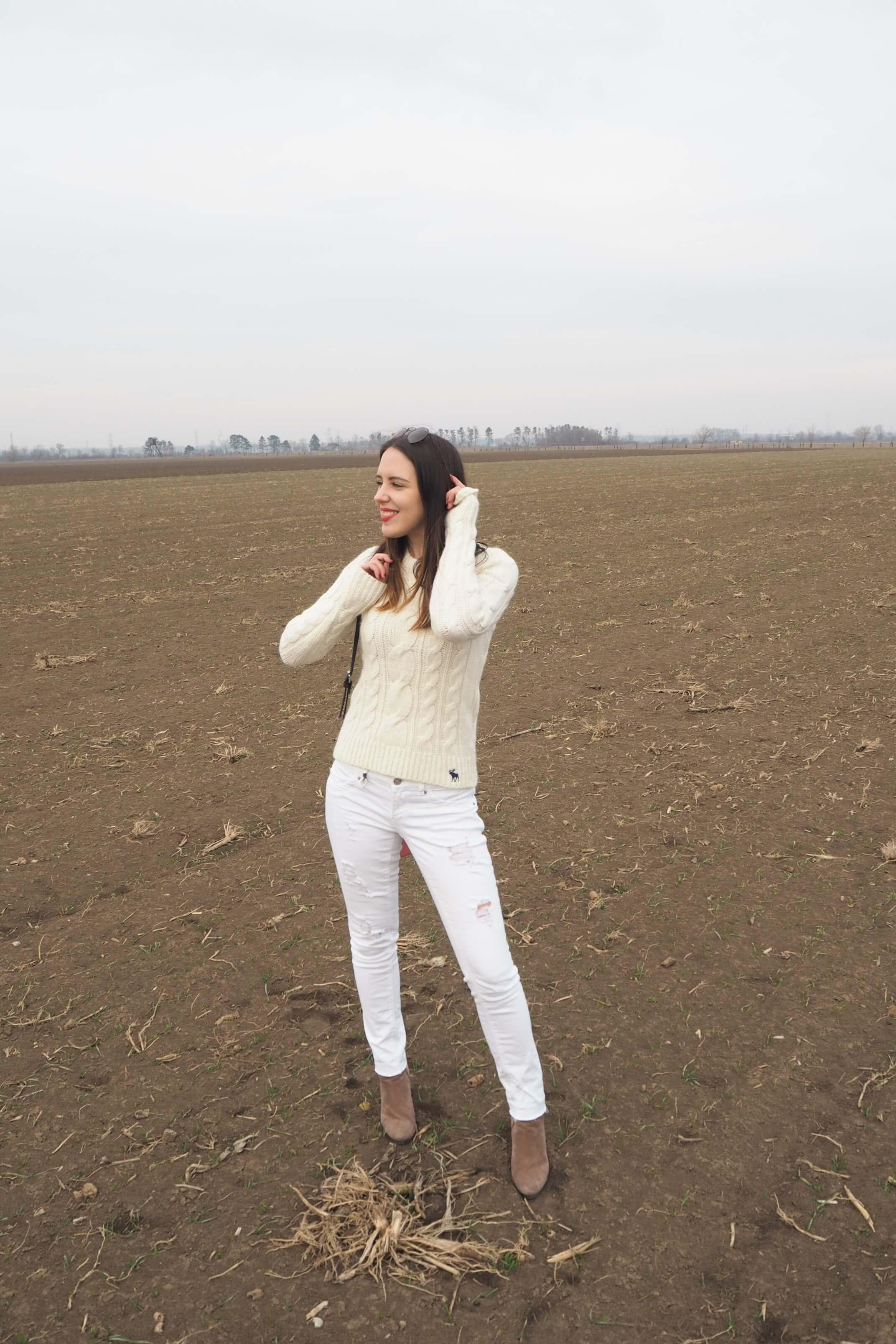 Weißes Winteroutfit MaryJay