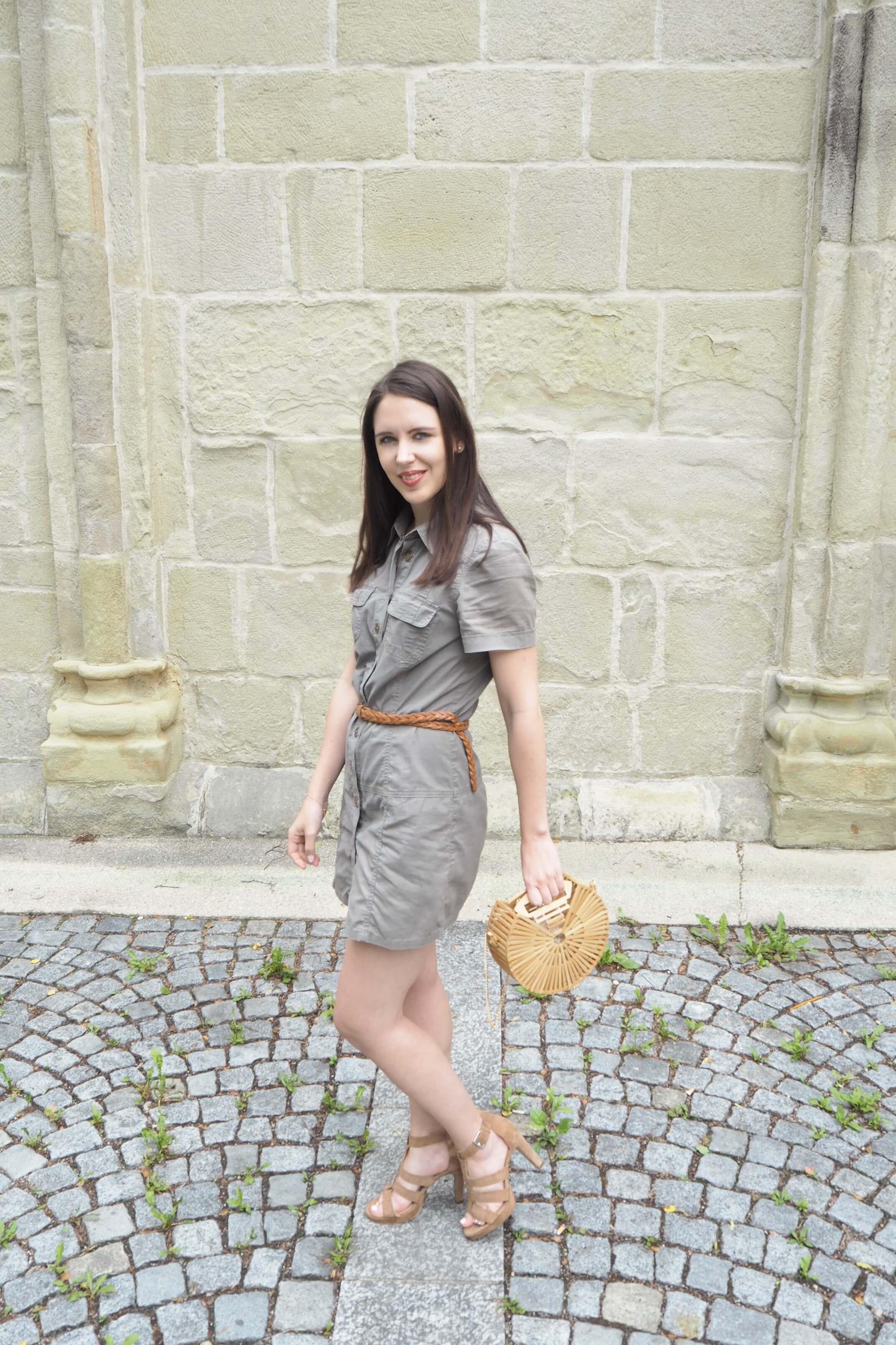 xRunde Holztasche