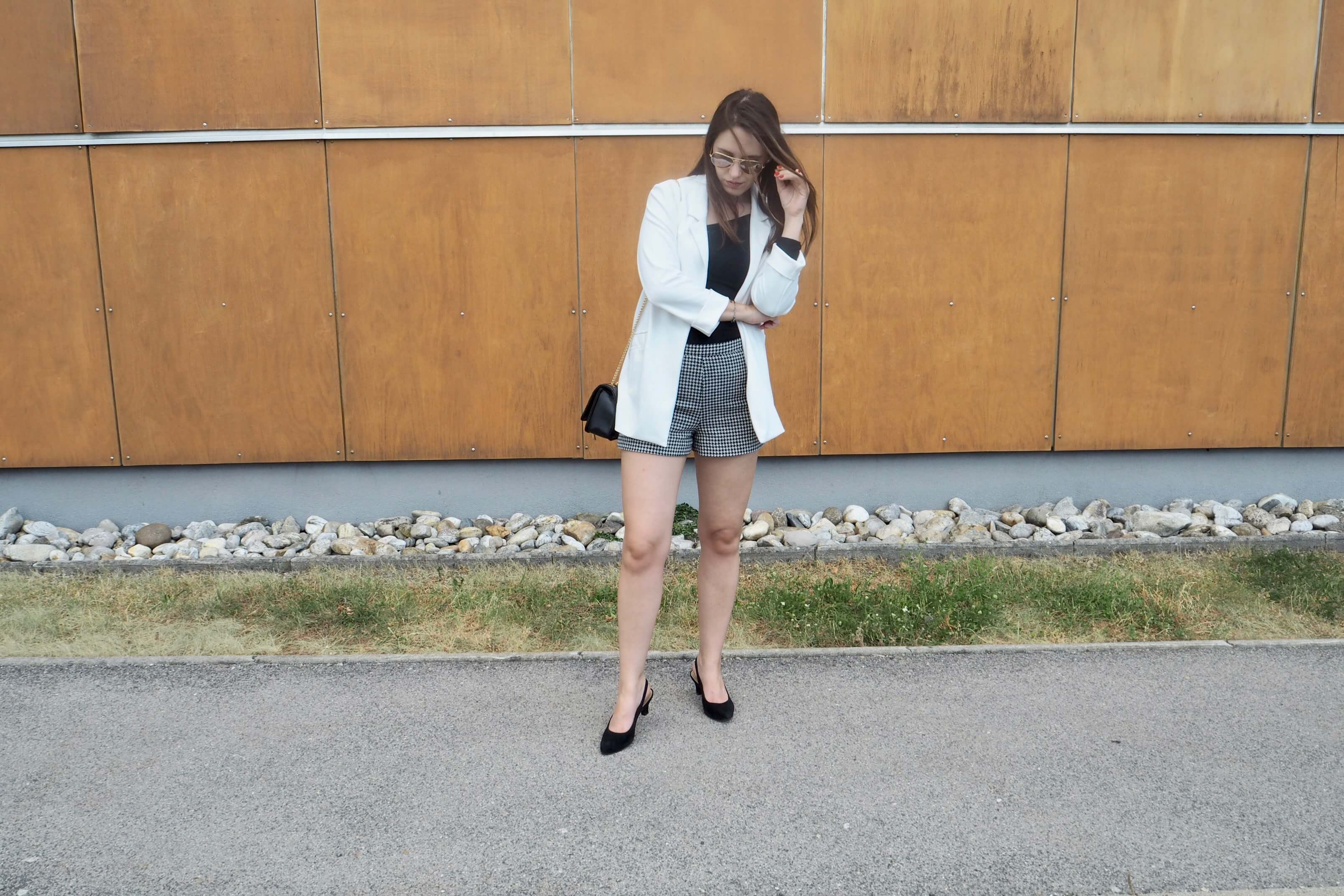 Slinbackpumps Outfit