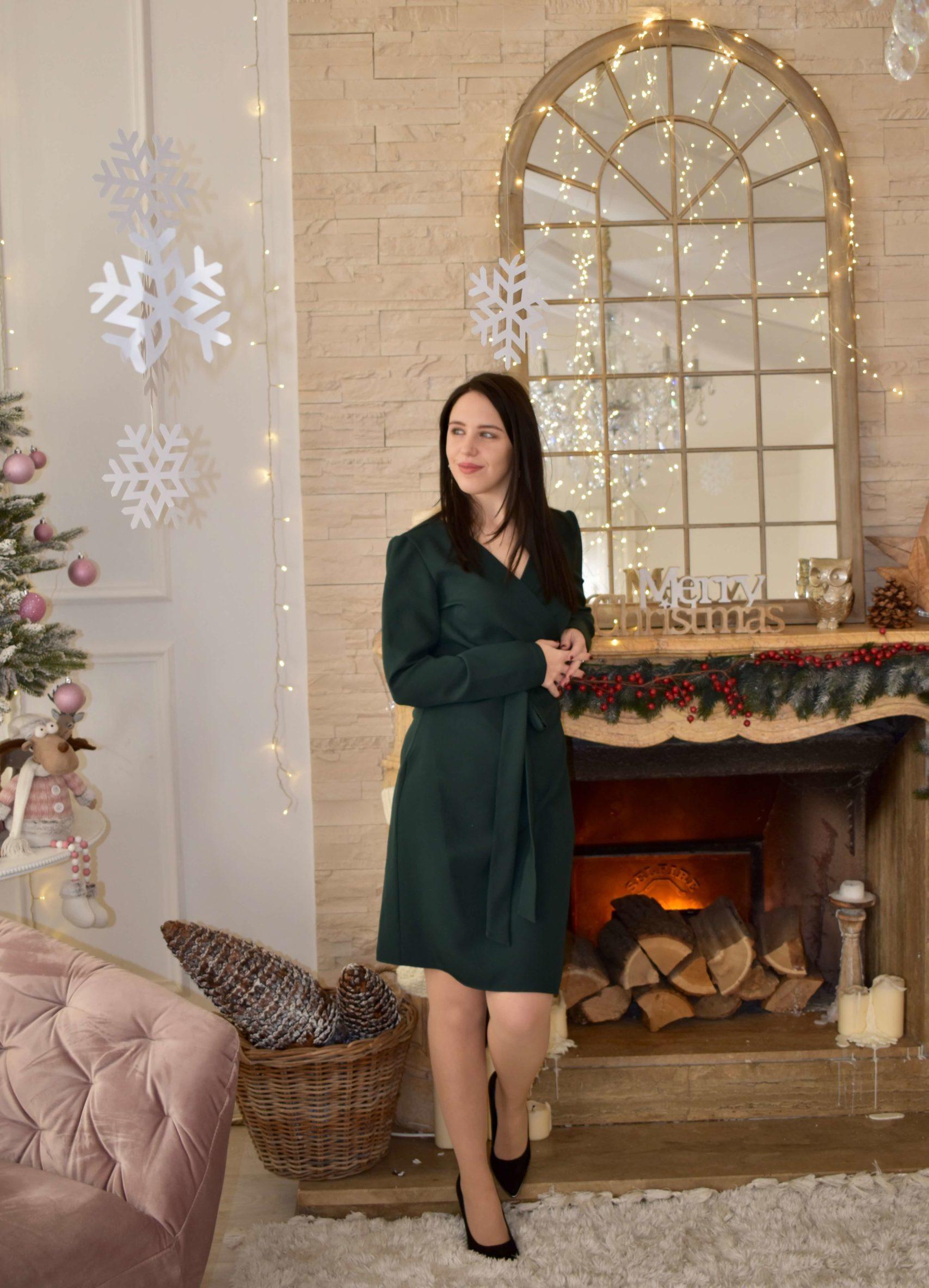 Outfit für die Weihnachtsfeier