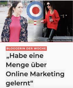 City4u Bloggerin der Woche