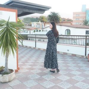 Flowerprint Maxi Dress