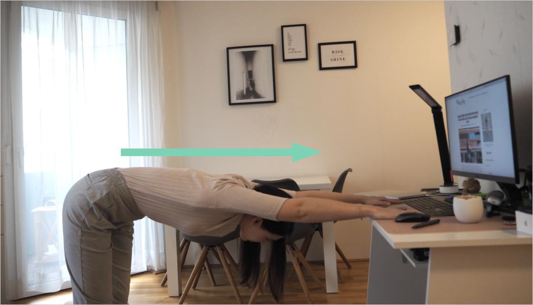 einfache Übungen für den Rücken