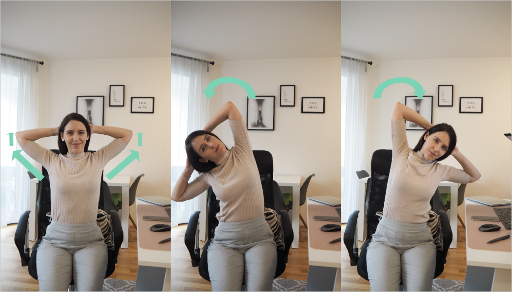 Übungen gegen Nackenschmerzen